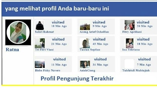 Siapa yg sering lihat profil facebook kita secara diam diam ?