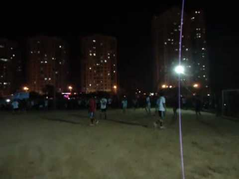 Pha tấn công của đội bóng Thanh Hóa