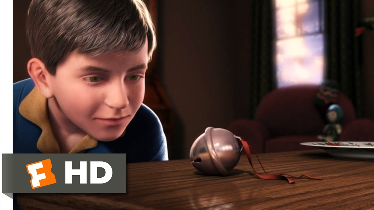 The polar express believer s bell scene