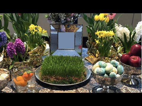 Learn  about Norouz and its traditions with Aida Izadpanah - IN ENGLISH