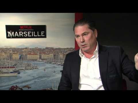avec Florent Siri réalisateur de la série Marseille 02 mai 2016