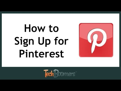 How to Sign Up For Pinterest