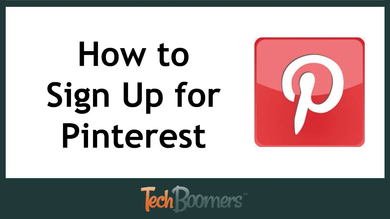 Pinterest: How To Sign Up For Pinterest