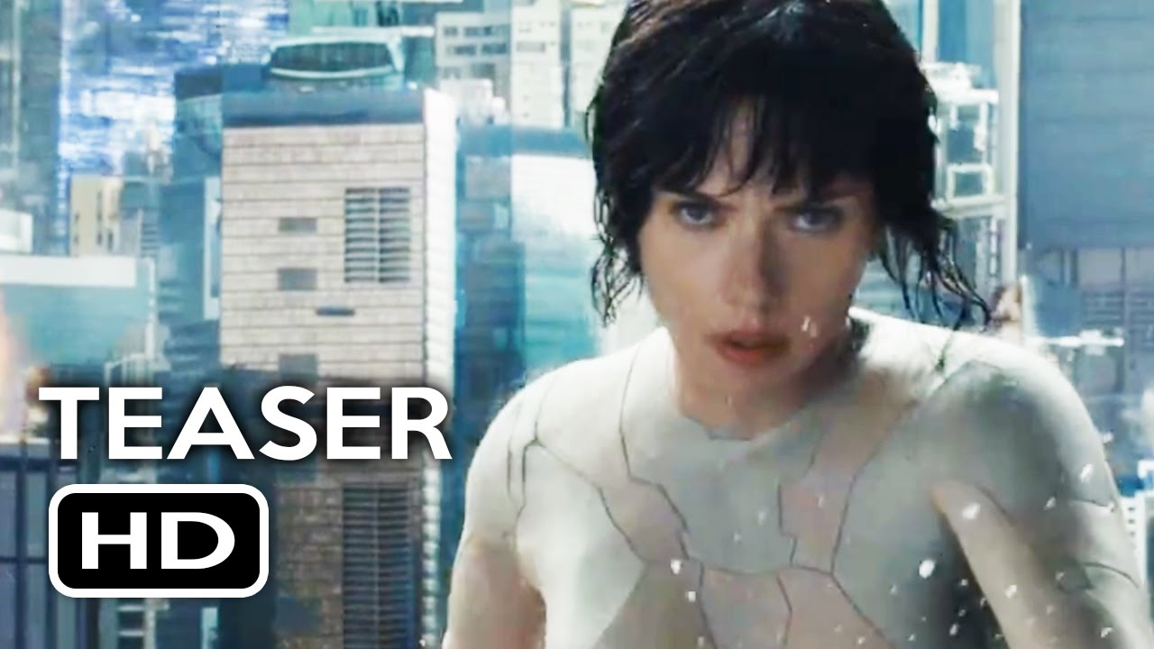 Ghost In The Shell Official Trailer 1 Teaser 2017 Scarlett Johansson Action Movie Hd Youtube