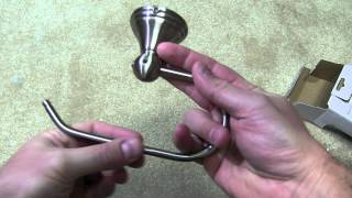 Moen Preston Toilet Paper Holder Unboxing