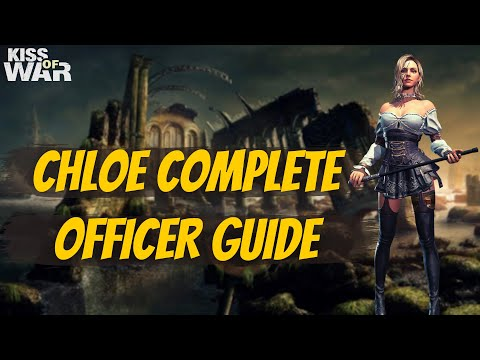 Chloe Complete Officer Guide - Kiss of War