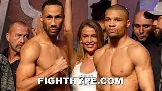 JAMES DEGALE VS. CHRIS EUBANK JR. FULL WEIGH-IN AND INTENSE FINAL FACE OFF