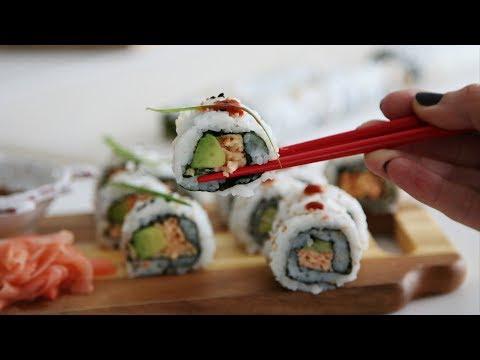 Խեցգետնով Սուշի - Spicy Crab Sushi Recipe  - Heghineh Cooking Show In Armenian
