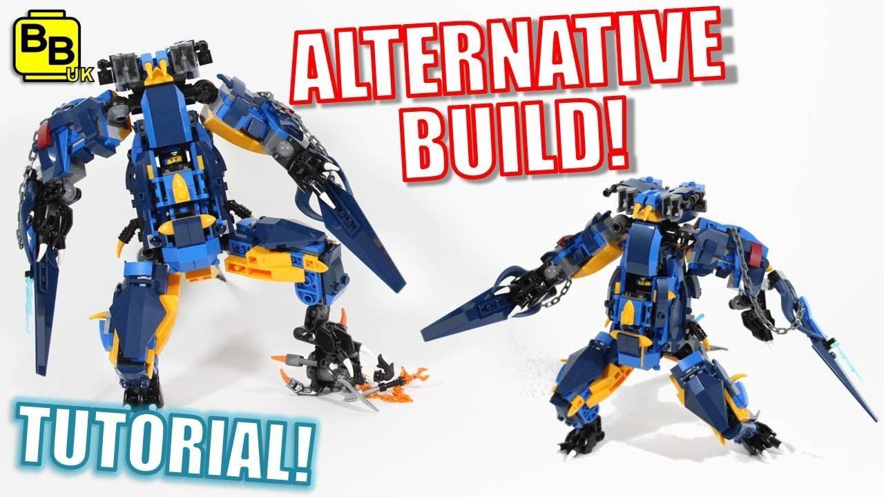 JAY MECH! LEGO NINJAGO 70652 ALTERNATIVE BUILD LIGHTNING ...