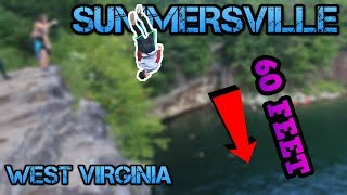 Download Video 60 FOOT TSUKAHARA!  (Summersville Cliff Jumping) MP3 3GP MP4