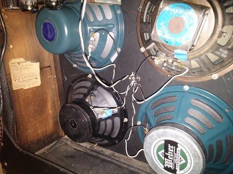 Vintage vs Weber 10in Speaker Shootout (Tweed Deluxe 5b3)