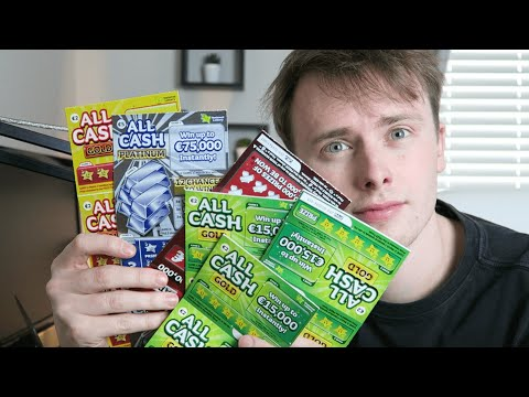 THE BEST €100 INVESTMENT?! - Spending €100 on Irish Lotto Scratch Cards!