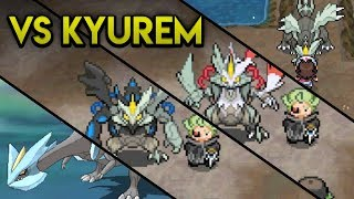 Evolution of Kyurem Battles (2011 - 2017)