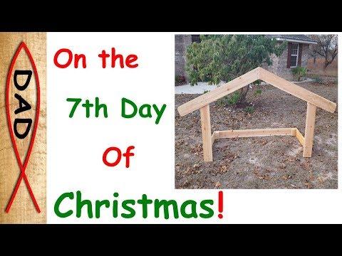 DIY - Nativity Stable Under $25