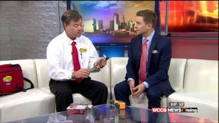 Home Electrical Safety with Rusty Wise on WCCB Rising