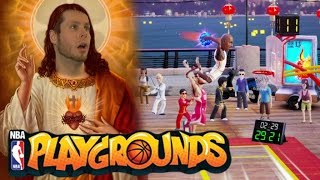 Am i a nba playground jesus?