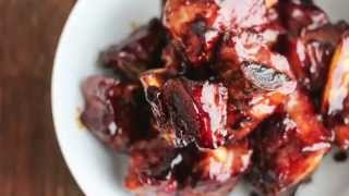 Chinese Sticky Honey Spareribs