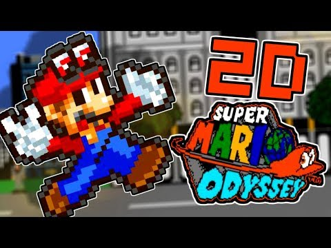 Super Mario Odyssey 2d Edition Super Mario Odyssey Nes Retro