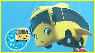 Baby Shark Buster Song! | Go Buster In The Ocean | Baby Cartoons | Videos for Kids |  ABCs and 123s