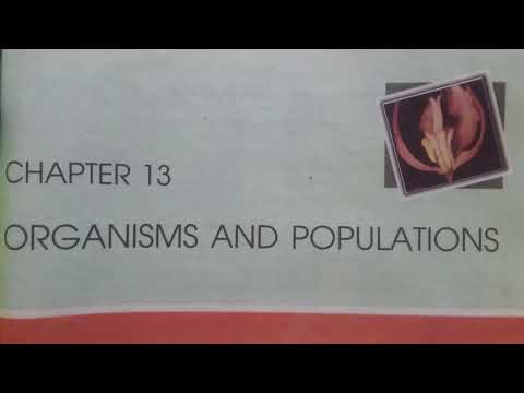 Ch 13 Organisms And Populations Class 12 Ncert (reading only) biology thumbnail
