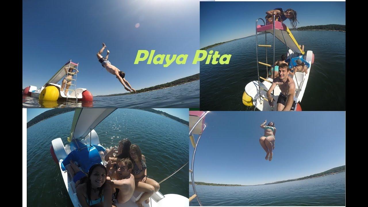 Playa pita embalse de la cuerda del pozo youtube for Cuerda de pita