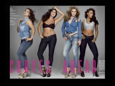 Plus Size Models Vs. Typical Fashion Models