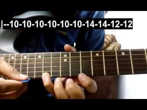 Main Tera Boyfriend (Single String) Guitar Tabs Tutorial | Raabta | Shubham Joshi