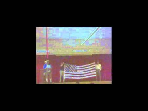 Tyndall Elementary School Flag Presentation 40 & 8