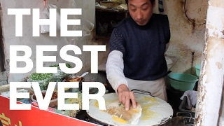 Jianbing is the BEST Chinese Street Food EVER
