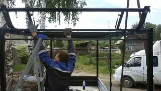 Сдвижная крыша своими руками на газель