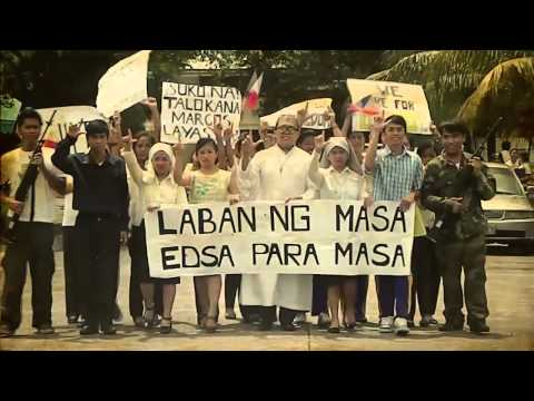Reenactment of EDSA People Power 1986