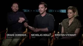 Kristen Stewart & Nicholas Hoult on EQUALS, love & chemistry—Exclusive Interview by Gaia Melikian.