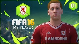 FIFA 16 | My Player Career Mode Ep1 - THE NEW FRANK LAMPARD?!