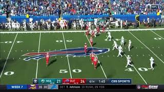 Bills Get Insane Touchdown On Dolphins Onside Kick
