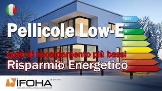 Ridurre i costi di riscaldamento e risparmio energetico con pellicola Low E per finestre...