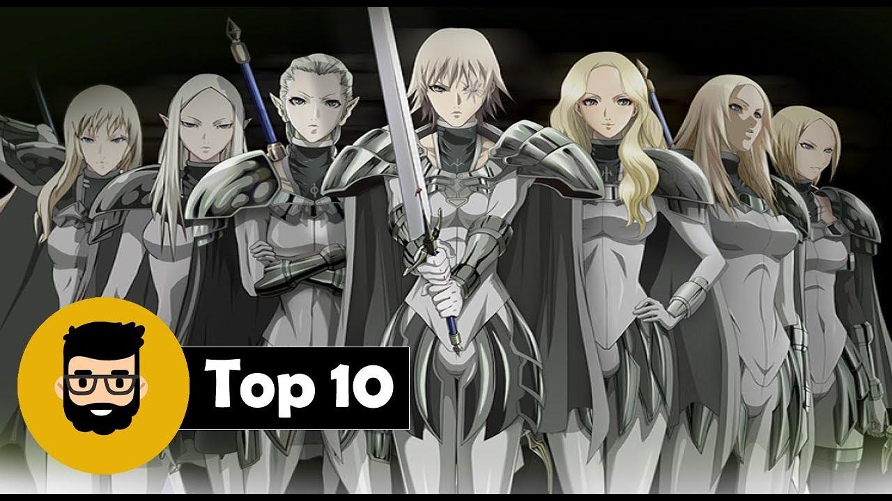 Top 10 | Claymore: Guerreras más poderosas #1