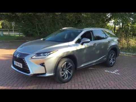 SMMT Test Day (Sept. 2018).  A Walk Around the 2018 Lexus RX450h L.