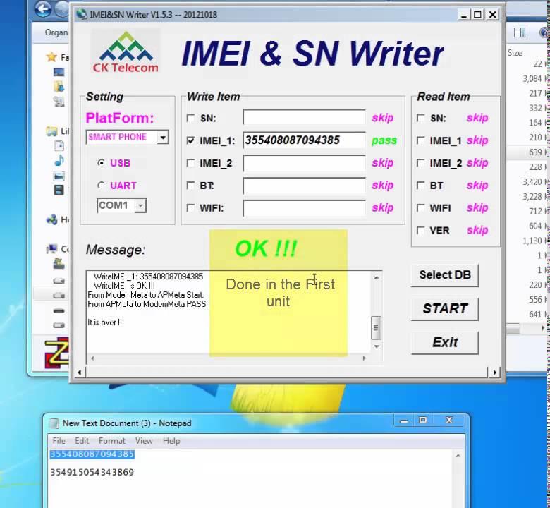 Chia sẻ - Tool hỗ trợ sửa IMEI & số seri (S/N) máy chipset MTK