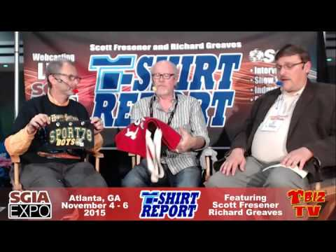 T-Shirt Report SGIA 2015 - Interview with Alan Howe - Tech Support Screen Print Supply