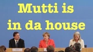 Return of the Kanzlerin: Angela Merkel in der Bundespressekonferenz