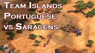 1v1 Team Islands vs Villese | Portuguese vs Saracens