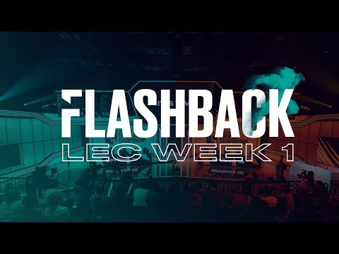 FLASHBACK|Week 1 - LEC 2019 (Spring)