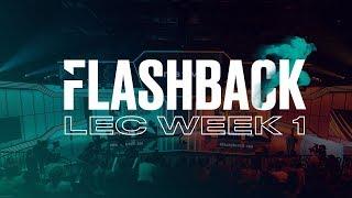 FLASHBACK|Week 1 - LEC 2019 (Spring)