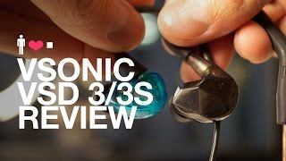 vSonic VSD 3 / VSD 3S Earphone Review