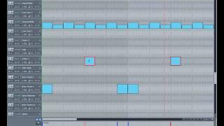 Samplitude Basics 18:Nudge Midi Events.