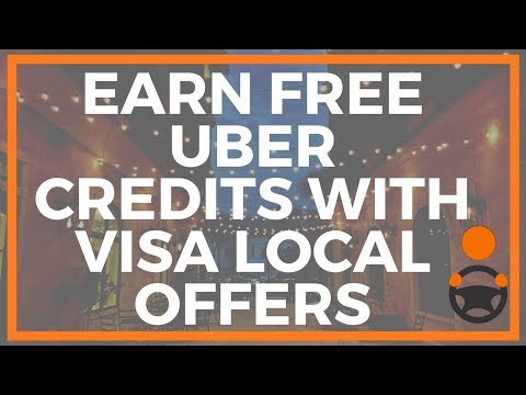 Visa Local Offers >> Uber Credit Card Earn Free Uber Credits With Visa Local Offers