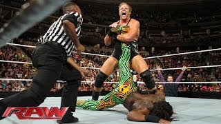 Kofi Kingston vs. Jack Swagger: Raw, Feb. 17, 2014