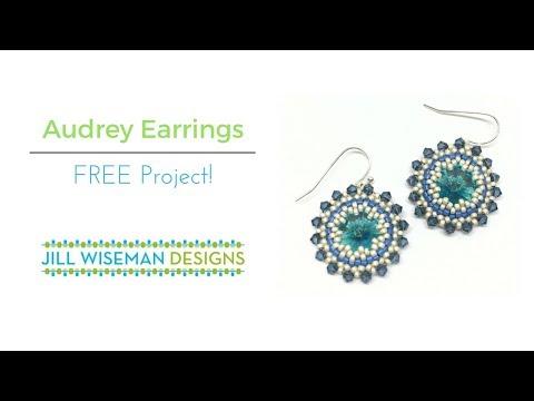 FREE Project! Audrey Earrings