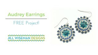 FREE Project! Audrey Earrings