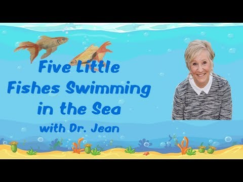 Five Little Fishes By Dr  Jean